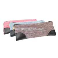 Cute Canvas Pencil Pouch Bag / Cute Pencil Bag / Canvas Pencil Pouch Bag