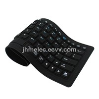 Flexible Tablet/PC keyboard for 84 keys waterproof
