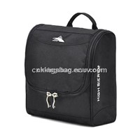 Hanging Travel Cosmetic Bag Black Color, Designer Cosmetic Bag,Cosmetic Bag for Men
