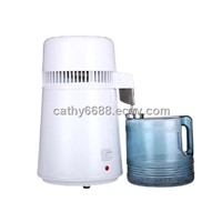 Home water distiller purifier machine, counter top with stainless steel filter