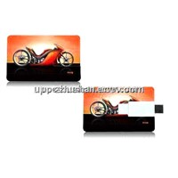 Hot Gifts 16GB 8GB 4GB 2GB Full Color Printing Credit Card USB Flash Memory