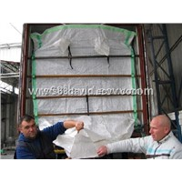 PP Woven Dry Bulk Container Liner bag for 20ft and 40ft