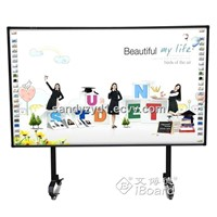 "School and office equipment 82"" multi touch interactive whiteboard"