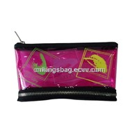 Transparent PVC Makeup Bag for Beauty Cosmetic, Fancy Prints Cosmetic Bag