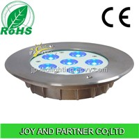 18W tricolor LED swimming pool lights with CE certificated,IP68