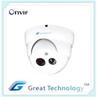 30m IR Megapixel Onvif Mini Dome Ip Camera