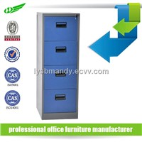 4 drawer knocked down structure filing cabinet