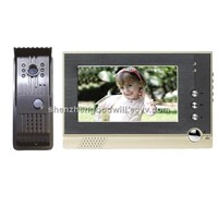 7 inches Color LCD Video Door Phone intercom doorbell