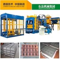 Automatic Concrete Block Making Machine (QT10-15)