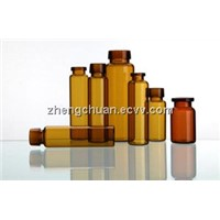 Borosilicate glass tubular oral liquid bottle
