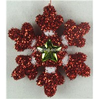 Christmas tree ornaments- Snowflake