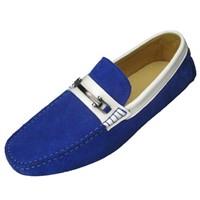 Custom Men moccasin loafers made in Guangzhou