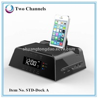 Docking speaker Compatible with MP3, MP4, CD player,DVD player, Notebook, Mobile Phone, Tablets