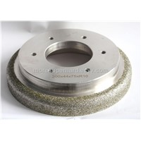 Electroplated Chamfering Grinding Wheel for Brake Pad