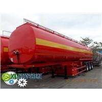 Fuel Semi trailer tanker ADR 49500 liters China