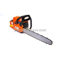 GASOLINE CHAINSAW CUTTING WOOD GAS CHAIN SAW ALUMINUM CRANKCASE