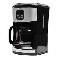 GS/CE/ROHS/LFGB/CB certified 1000W 1.5L(10-12cup) New Programmable Drip Coffee Maker(New Arrival)