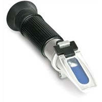 Handheld refractometer for mining emulsion