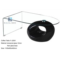 Hot Sale Glass Coffee Table Furniture Supplier