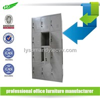 Knocked down structure metal locker