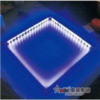 LED curtain wall glass