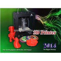 Mingda 3 d  printers with Ball screw and abs /pla filament