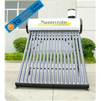 No Pressure Solar Water Heaterwith Assitant Tank