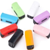 Nude Packing 2600mAh Mobile Power Bank with LED for Iphone & Mobilephone