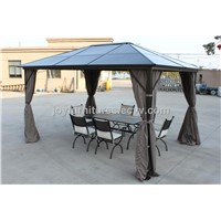 Polycarbonate outdoor gazebo