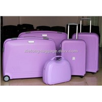 Popular Multipurpose Light Purple PP Injection Hard Shell Case Combination