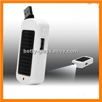 Portable Classical White Solar Charger