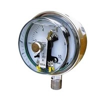 Pressure Gauge with magnetic electric contact