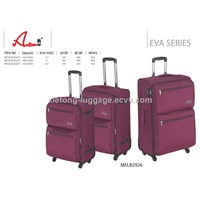 Purple 2 in 1 Trolley Carry-on Spinner EVA Soft Case