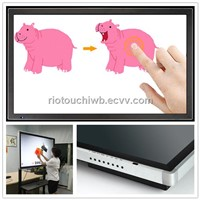 Riotouch infrared 10 touch screen LCD/LED monitor with factory price for school