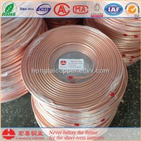 Seamless Copper Pancake Coil C12200 Air Conditioner