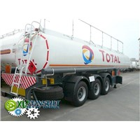 Semi  fuel  trailer  ADR 30000 liters  China