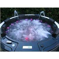 Sunrans Balboa system hot tub 6 person LED lights CE approved SR831 sex hot tub massage spa
