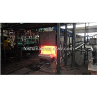Tunnel-type copper/aluminum ingot continuous furnace
