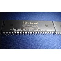 W77C032A40DL - Winbond - fast 8051 compatible microcontroller