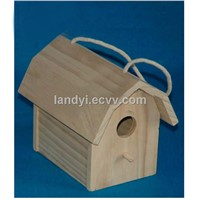 Wooden Craft Bird House