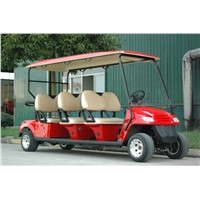 electric golf cart, CE approved,6 seats