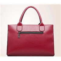 fashion second leather women lady hand bag