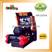 game center simulator gaming race machine 42 LCD 3D Sonic MR-QF300 Single player