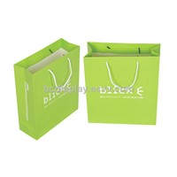 Hamgbags,shopping paper bags with SGS(B&C-O16)
