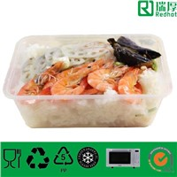 plastic food storage microwaveable container