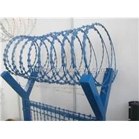 Powder Coated Razor Barbed Wire Concertina Razor Barbed Wire