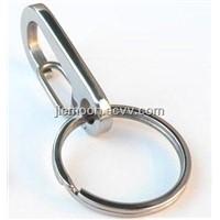 titanium keychains,titanium key rings,titanium Split Ring,titanium alloy Key Carabiner