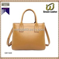 trendy leather handbag lady bag genuine leather