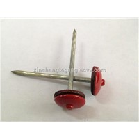 umbrella head roofing nails with rubber washer