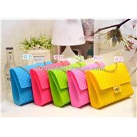 Women Shoulder Bag, Handbag, Candy Bag, Silicone Bag